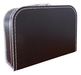 Zwart  koffertje 30cm