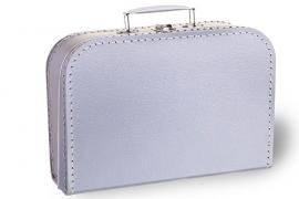 Zilver koffertje 25cm