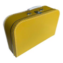 Okergeel koffertje 35cm