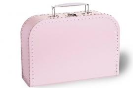 Lief roze koffertje 25cm