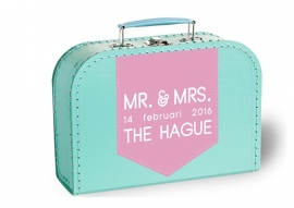 Mr & Mrs trouwdatum