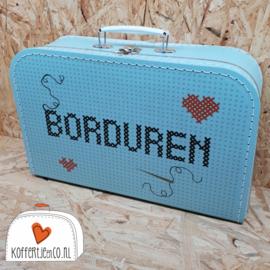 Koffertje voor borduren