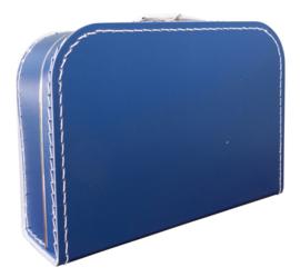 Donkerblauw koffertje 30cm