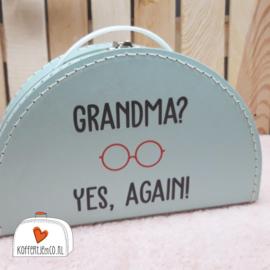 Grandma? yes, again! blauw halfrond
