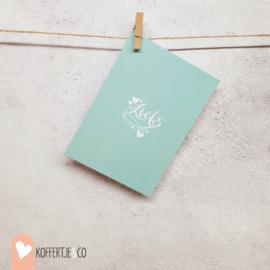 Liefs kaart | handgeschreven