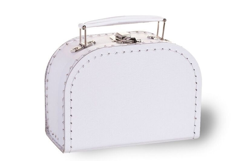 Wit koffertje XS