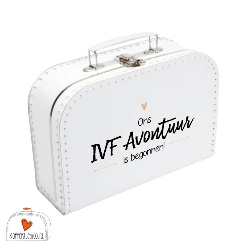 Koffertje IVF | Ons IVF avontuur is begonnen