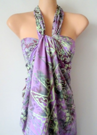Sarong PURPLE FRESH, High
