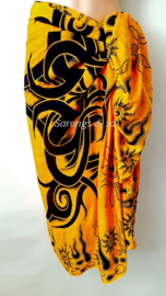 Sarong TRIBUL CLURIT Golden Yellow, Best