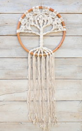 Dromenvanger/Dreamcatcher TREE OF LIFE NATUREL