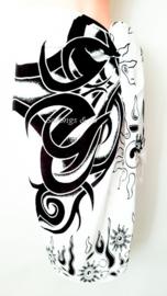 Sarong TRIBUL CLURIT White/Black, Best