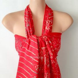 Sarong RED GOLD MYSTIC, High