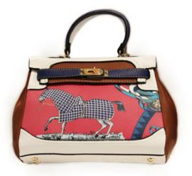 Handtas met Paard - Bruin