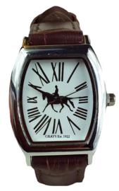 Horloge Dressuurpaard Bruin