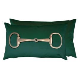 Kussen Paarden Bit - Groen