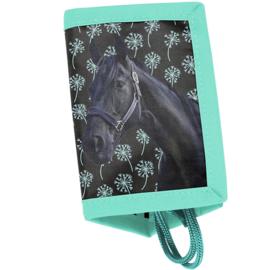 Portemonnee Zwart Paard