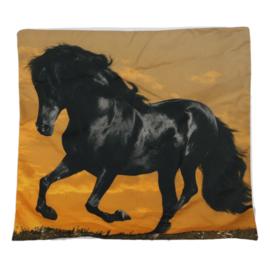 Kussen Zwart Paard