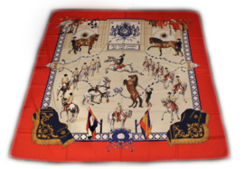Sjaal Spaanse Rijschool - Rood