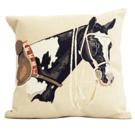 Gobelin Kussen Pinto Paard