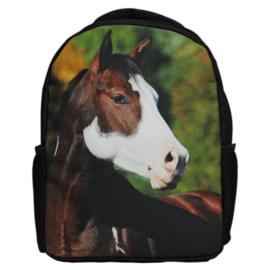 Kinder Rugzak Bruin Bont Paard