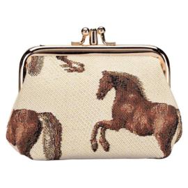 Paardenportemonnees
