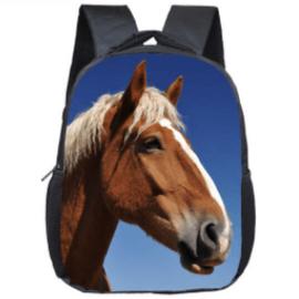 Kleine Rugzak Palomino Paard
