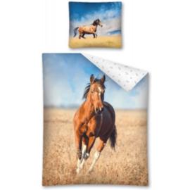 Dekbedovertrek Paard Éénpersoons