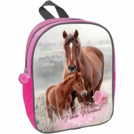 Kleine Rugzak Paard En Veulen