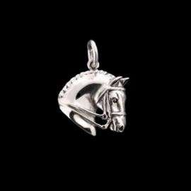 Hanger Dressuurpaard  Zilver Jane Heart