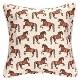 Gobelin Kussenhoes Paarden