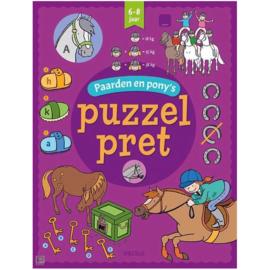 Puzzelpret Paarden En Pony's 6-8 jaar