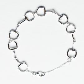 Armband Trensbitten Zilver