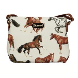 Schoudertas Rennende Paarden