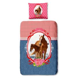 Paarden Dekbedovertrek 140x220