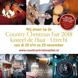 "Blog 2: ""Met Equitiek naar de Country & Christmas Fair"""