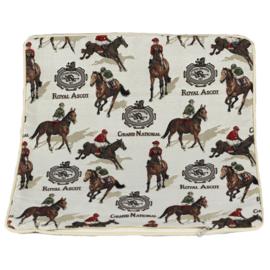 Kussenhoes Racepaarden