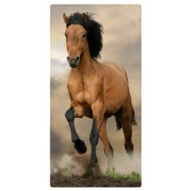 Strandlaken 70x140 Bruin Paard