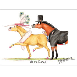 """At The Races"" Alex Underdown Kaart"