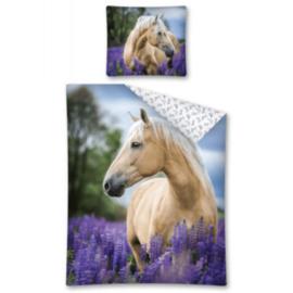Dekbedovertrek Palomino Paard