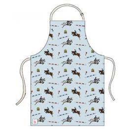 Keukenschort Emily Cole Springpaarden