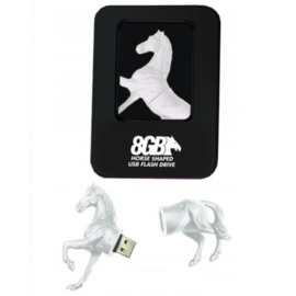 USB-stick 8GB Wit Paard