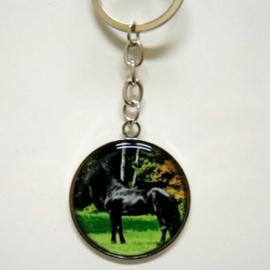 Sleutelhanger Fries Paard