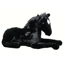 Paardenknuffel Zwart