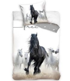Dekbedovertrek Paard Fries