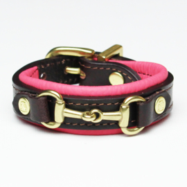 Armband Noble Outfitters Paarden Bit Roze