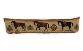 Gobelin Tochtkussen drie paarden