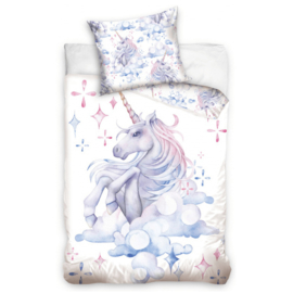 Dekbedovertrek Éénpersoons Unicorn