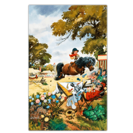 """Thelwell Paarden Theedoek """"Up For the Cup"""""""