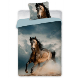 Dekbedovertrek Bruin Paard