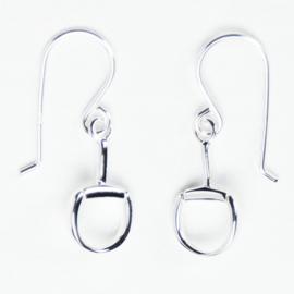 Oorbellen Trensbit Hangers Zilver